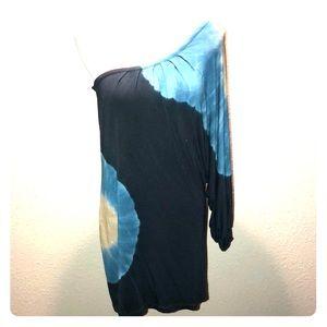 YFB one shoulder tunic dress
